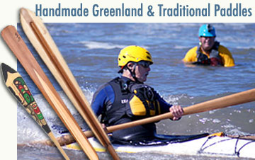 Custom Handmade and Traditional Paddles